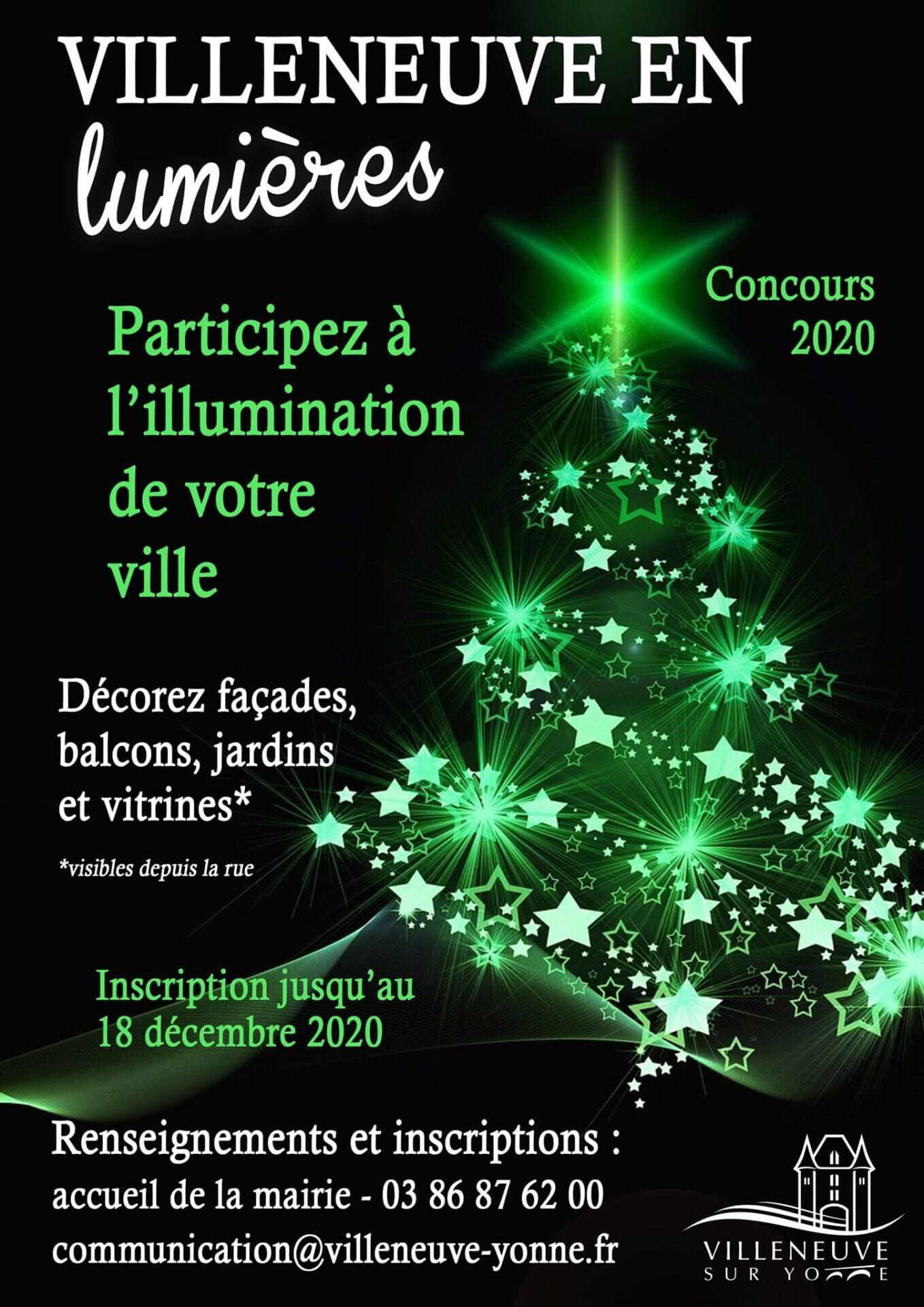 concours illuminations de noël