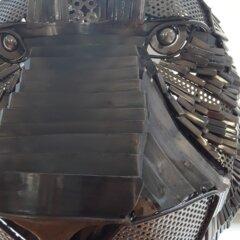 exposition de scrap metal les créations de Yo